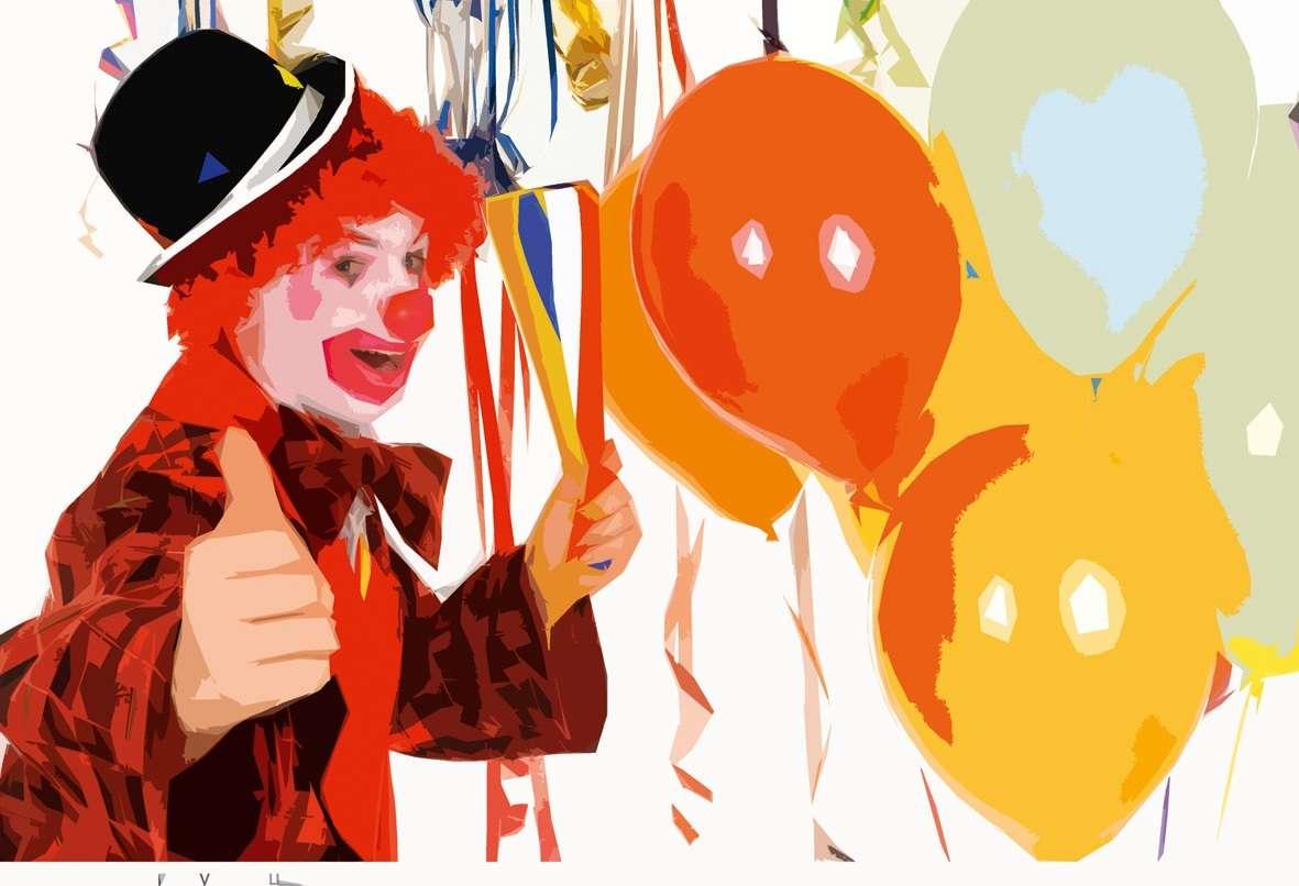 Сценарий на детский праздник клоун